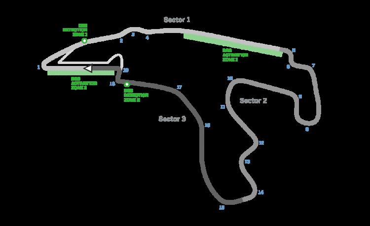 Spa circuit in belgië