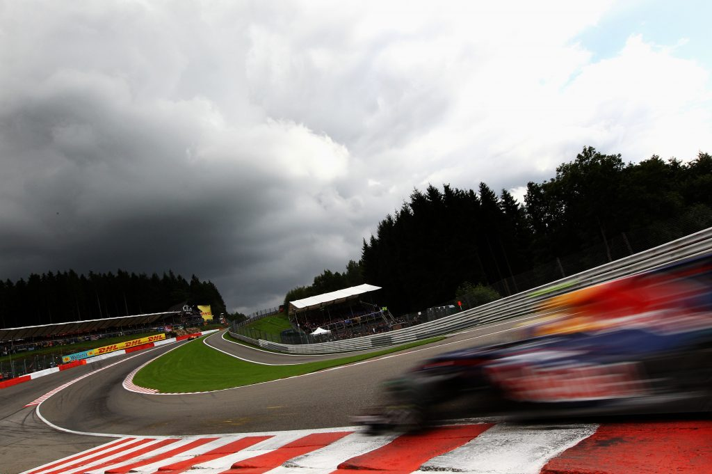 F1 Belgian Grand Prix - Race